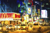 Manhattan Midnight Giclee Print by Philippe Hugonnard