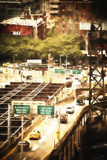 New York Traffic Giclee Print by Philippe Hugonnard