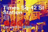Times Square 42st Station Giclee Print by Philippe Hugonnard