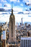Empire State & 1WTC Giclee Print by Philippe Hugonnard