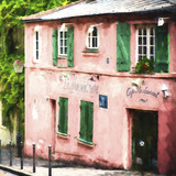 La Maison Rose Montmartre Giclee Print by Philippe Hugonnard
