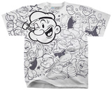Popeye- The Great Gazookus T-shirts