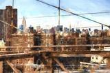 NY Skyline Giclee Print by Philippe Hugonnard