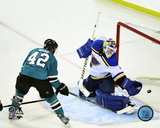 Joel Ward San Jose Sharks 2016 Western Conference Finals Game Six Action Photo