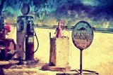 Gas Station 66 Giclee Print by Philippe Hugonnard