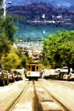 Cable Car San Francisco Giclee Print by Philippe Hugonnard