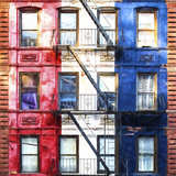American Windows Giclee Print by Philippe Hugonnard