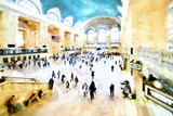 Grand Central NYC Giclee Print by Philippe Hugonnard