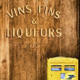 Vins Fins & Liqueurs Paris Giclee Print by Philippe Hugonnard