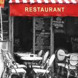 Restaurant Montmartre Paris Giclee Print by Philippe Hugonnard