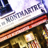 Montmartre Souvenirs Giclee Print by Philippe Hugonnard