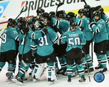 San Jose Sharks Western Conference Finals Game Six Celebration Photo