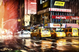 Reflections of Taxis Giclee Print by Philippe Hugonnard