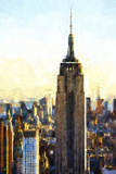 Empire State Building Giclee Print by Philippe Hugonnard