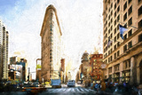 Flatiron Building IV Giclee Print by Philippe Hugonnard