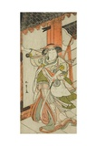 The Actor Nakamura Tomijuro I as Hangaku Gozen, Performed at the Nakamura Theater, C.1777 Giclee Print by Katsukawa Shunsho