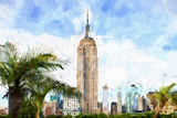 Empire State Cityscape Giclee Print by Philippe Hugonnard