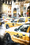 NYC Taxis Giclee Print by Philippe Hugonnard