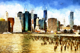The Skyline II Giclee Print by Philippe Hugonnard