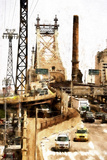 Ed Koch Queensboro Bridge Traffic II Giclee Print by Philippe Hugonnard