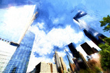 One World Trade Center District II Giclee Print by Philippe Hugonnard