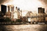 Queensboro Bridge Giclee Print by Philippe Hugonnard