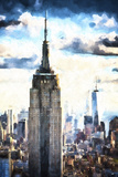 1WTC & Empire State Giclee Print by Philippe Hugonnard