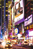 Times Square by Night Giclee Print by Philippe Hugonnard