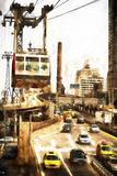 Ed Koch Queensboro Bridge Traffic III Giclee Print by Philippe Hugonnard