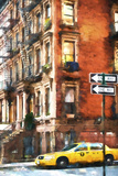 Harlem Taxi Giclee Print by Philippe Hugonnard