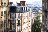 Montmartre Buildings Giclee Print by Philippe Hugonnard