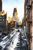 Manhattan Urban Street Giclee Print by Philippe Hugonnard