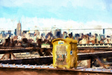 New York Emergency Giclee Print by Philippe Hugonnard