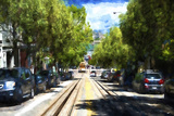 San Francisco Cable Car Giclee Print by Philippe Hugonnard