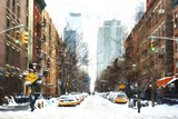 New York Winter Day Giclee Print by Philippe Hugonnard