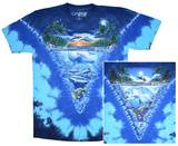 Night Time Dive (Front/Back) T-Shirt