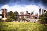 Brooklyn Bridge Park Giclee Print by Philippe Hugonnard