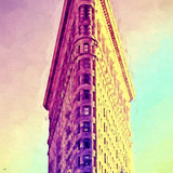 Flatiron Building Giclee Print by Philippe Hugonnard
