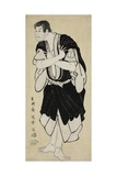 The Actor Sakata Hangoro III as Kosodate Kannonbo, 1794 Giclee Print by  Toshusai Sharaku