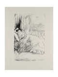 By the Balcony, 1896 Giclee Print by James Abbott McNeill Whistler