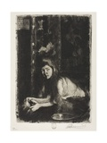 Woman with a Vase, 1894 Giclee Print by Paul Albert Besnard
