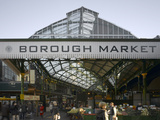 Borough Market, London. Entrance and Sign Photographic Print by Richard Bryant