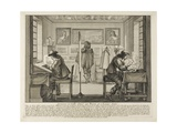 The Engraver and the Etcher, 1642 Giclee Print by Abraham Bosse