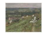 The Valley of Arconville, C.1887 Giclee Print by Theodore Robinson