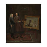 Thomas Walker and Peter Monamy, C.1735 Giclee Print by Gawen Hamilton