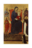 Virgin and Child Enthroned with Saints Peter, Paul, John the Baptist, Dominic and a Donor, 1325-35 Giclee Print by Ugolino Di Nerio