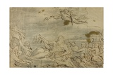 Study for Commerce or the Triumph of the Thames, 1767-80 Giclee Print by James Barry