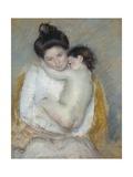 Mother and Child, C.1900 Reproduction procédé giclée par Mary Cassatt