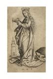 St. Barbara Giclee Print by Martin Schongauer