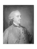 Le Marquis De Puente-Fuerte, 1761-62 Giclee Print by Jean-Baptiste Perronneau